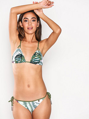 Seafolly Brazilian Tie Side Bikini Bottom Moss