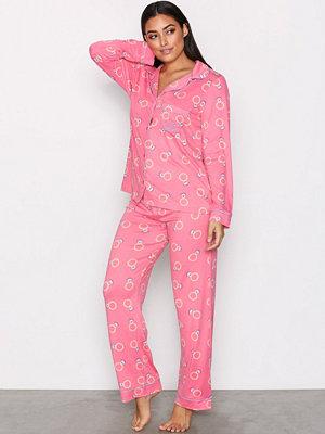 Pyjamas & myskläder - Chelsea Peers PJ Set Rosa