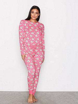 Pyjamas & myskläder - Chelsea Peers Cookie PJ Set Rosa