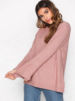 Jacqueline de Yong Jdyair L/S Sleeve Pullover Knt Ljus Brun