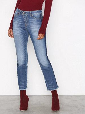 Hunkydory Aubrey Stripe Jeans Indigo