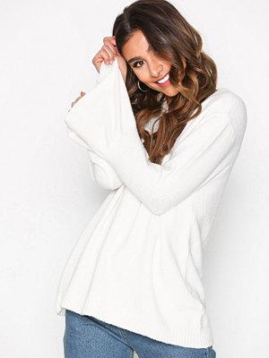 Jacqueline de Yong Jdyair L/S Sleeve Pullover Knt Vit