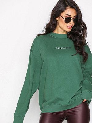 Calvin Klein Jeans Hilary Crew Neck Grön