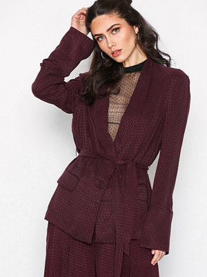 Free People Bonnie Blazer Wine