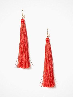 NLY Accessories örhängen Tassel Earrings Röd