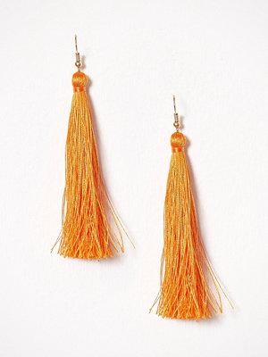 NLY Accessories örhängen Tassel Earrings Orange