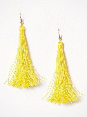 NLY Accessories örhängen Tassel Earrings Gul