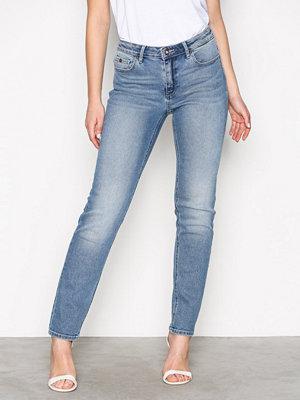 Only onlDEMI Reg Slim Dnm Jeans CRYQA355 Blå