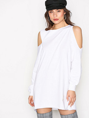 Missguided LONDUNN Cut Out Dress White