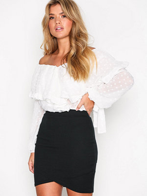 NLY Trend Wrap Rib Skirt