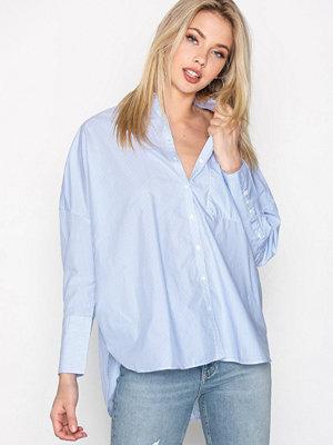 Calvin Klein Jeans Wiva Oversized Shirt Vit/Blå