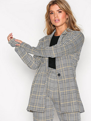 NLY Trend Dressed Check Jacket Rutig