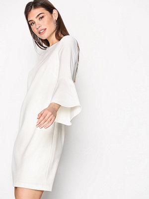 Polo Ralph Lauren 3/4 Sleeve Crew Neck Dress Cream