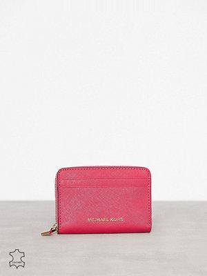 Plånböcker - MICHAEL Michael Kors Money Pieces Za Card Holder Pink