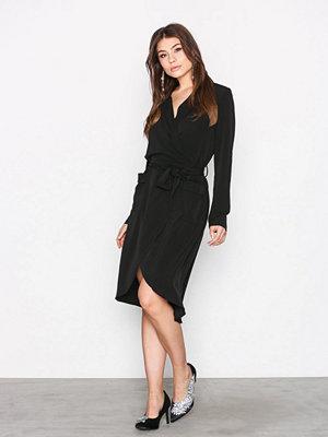 Object Collectors Item Objnell L/S Long Dress Svart