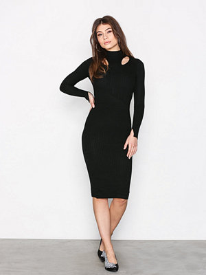 River Island Bodyfit Day Dress Black