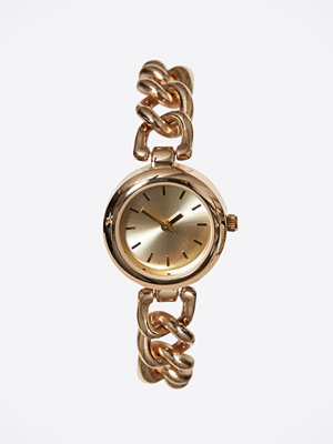 Klockor - New Look Embellished Dial Chain Strap Watch Gold