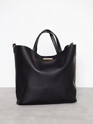 Topshop Soft Shopper Bag Black