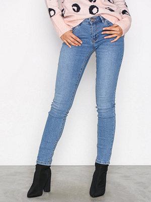 Jeans - Only onlDYLAN Pushup Reg an Dnm Jean Noi Ljus Blå