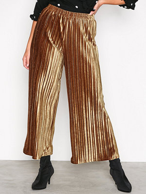 Sisters Point bruna byxor Som Pants Gold