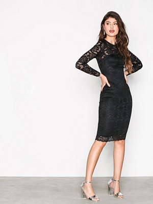 Ax Paris Lace Dress Black