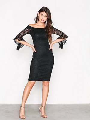 Ax Paris All About the Sleeve Dress Black