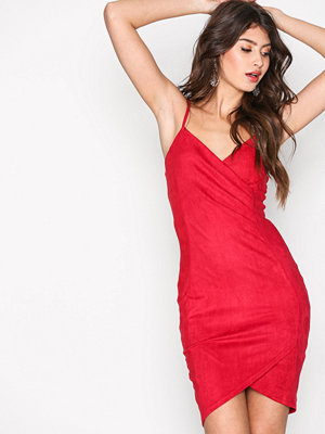 Ax Paris Wrapped Strap Dress Red