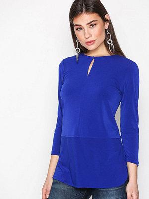 Lauren Ralph Lauren Sandylee 3/4 Sleeve Knit Blue