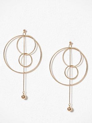 Pieces örhängen Pcfilia Earrings D2D Guld