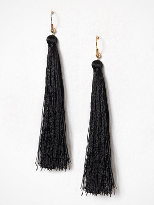 NLY Accessories örhängen Tassel Earrings Svart