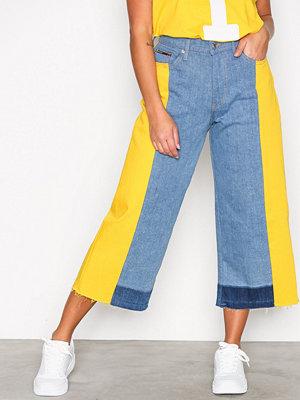 Tommy Jeans Mid Rise Culotte Annie Lemon