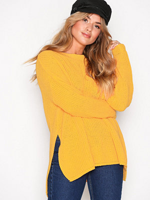 Glamorous Knitted Jumper Yellow