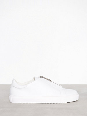 NLY Shoes Zip Sneaker Vit