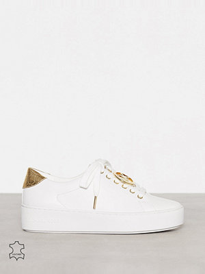 Sneakers & streetskor - MICHAEL Michael Kors Poppy Lace Up Optical White