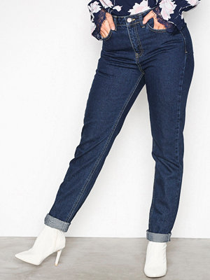 New Look Rinse Mom Jeans Blue