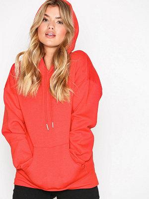 Street & luvtröjor - New Look Basic Oversized Hoody Red