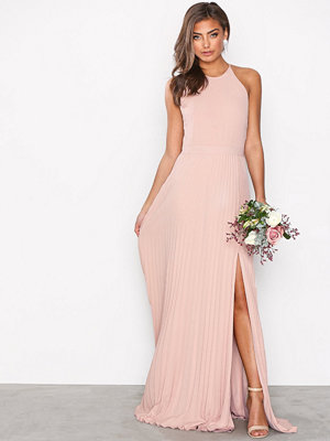 NLY Eve Pleated Lace Gown Rose