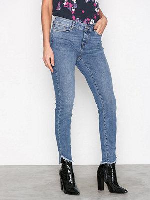 Vero Moda Vmseven Nw s Uneven Ank Jeans BA389 Blå