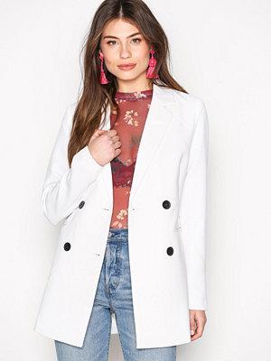 Jacqueline de Yong Jdybrick Spring Coat Otw Vit