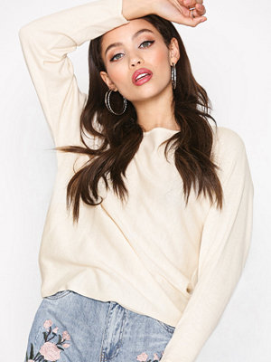 Only onlSOPHINA 7/8 Back Bow Pullover Kn Offwhite