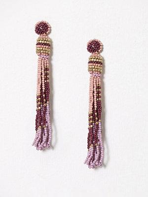 Pieces örhängen Pcvenice Tassel Earrings Ff Rosa