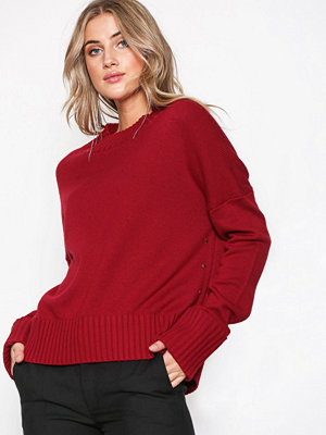 Hunkydory Molly Star Box Knit Red