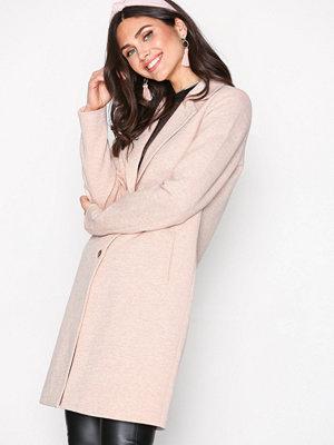 Only onlCARRIE Mel Coat Cc Otw Ljus Rosa