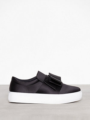 NLY Shoes Bow Sneaker Svart