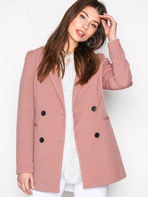 Jacqueline de Yong Jdybrick Spring Coat Otw Gammelrosa