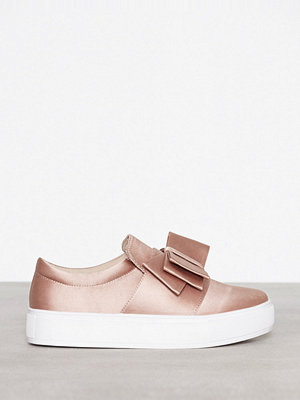 Sneakers & streetskor - NLY Shoes Bow Sneaker Dusty Pink