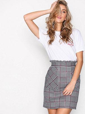 New Look Waist Pocket Front Skirt Black