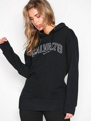 Calvin Klein Jeans Loose Fit Hoodie Pullover Black