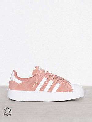 Sneakers & streetskor - Adidas Originals Superstar Bold W Rosa
