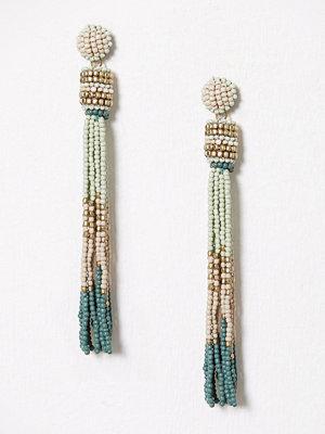 Pieces örhängen Pcvenice Tassel Earrings Ff Grön